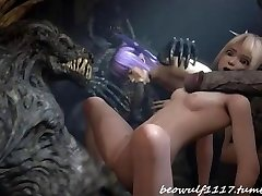 3D Satan fuck remix: Cradit Beowolf1117