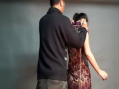 Yaner extreme hogtie-dangle compete