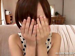 Ayumi Kimino hot Asian milf gets cunt humped