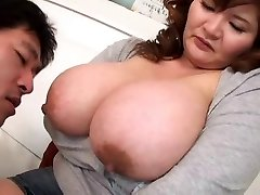 Deep-throating Asian Boobs