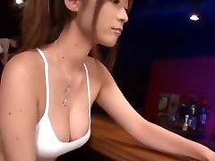 Hottest Japanese slut Akari Minamino, Aozora Konatsu, Haruki Sato in Exotic Suck Off, Big Boobs JAV scene