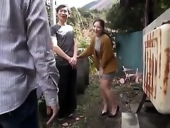 Asian Teen Night Outdoor Pussyfingering
