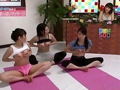Exotic Japanese slut Anri Sugisaki, Chika Arimura in Amazing Live demonstrates JAV scene