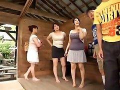 Hottest Chinese girl Sumire Shiratori, Hitomi Yuki, Reina Nakama in Hottest Compilation, Outdoor JAV video