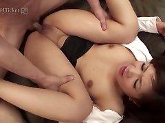 Shino Nakamura's Crevices Drilled at Office (Uncensored JAV)