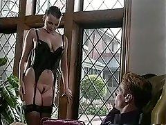 Crazy pornstar Tina Tyler in hottest antique, big arse sex scene