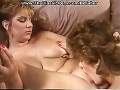 Classic porn with insane sex at party