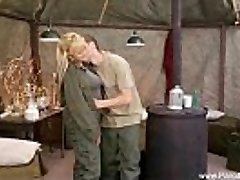 Retro Fuck-a-thon In The Army