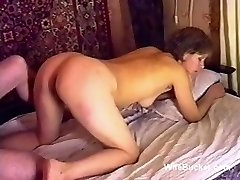 Russian porn lovemaking on the bed ussr retro