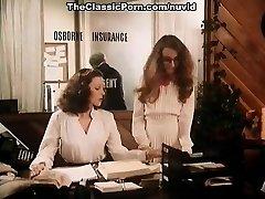 Annette Haven, Lisa De Leeuw, Veronica Hart in old school porno