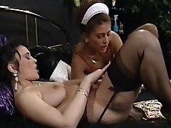A fine Maid meets her Mistress Lesbian Desires