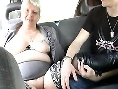 He collective his wifey Murielle in an outdoor gangbang