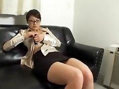 úžasné domácí velký prsa, sekretářka, sex klip