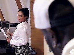 دانشگاه علوم پزشکی مشهد Buero -, آلمانی, مادر دوست داشتنی بمکد سیاه و سفید دیک در دفتر
