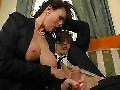 Zralá Prsatá Sekretářka Sex