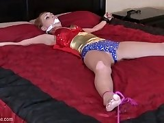 Wonder Nymph Corded Up & Fucked featuring JennyBlighe