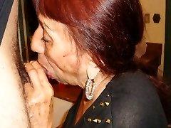 LatinaGranny grandmother blowjob compilation
