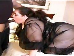 Plumper White Wife Fucks Small Dark-hued Dick