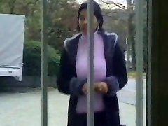 Huge Boob Turkish Mature Sucks and Drills Many Cocks