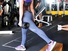 fitness sexy zadek horké velbloudí palec 90