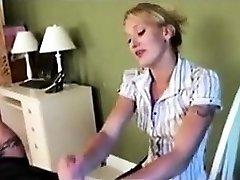 Handjob Money-shot Compilation 2 - She is on Cougar-MEET.COM