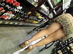 Upřímný Zralý Kalhotky - Velký Zadek Voyeur - Bendover Zadek