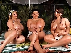 Angelina Castro OutDoors Oily 3 Way and Fuck-fest Stories!