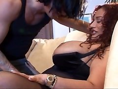 Big redheaded MILF getting well served