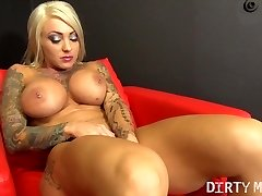 Duchess Dani Masturbating With A Highly Special Fucktoy