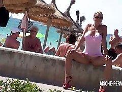 Aische Pervers - Pornoskandal am Ballermann - Blow-job, Cum-shot, Spermawalk