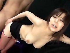 neuvěřitelné japonské děvka harumi asano v šílené punčochy jav clip