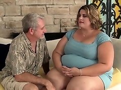 Monstrous and horny BBW Erin Green hardcore drill