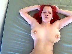 Orgasmic bouncing hooters fucked hard by young BF