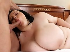 Busty Teen BBW Catches Instructor Sunbathing in the Naked