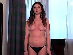 Casting babe goes home after gonzo sex and butt hole scre