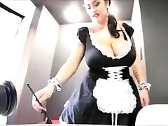 Leanne crow is a killer buxom maid