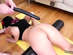 Extreme and big cooch Butt-Slave Yoga