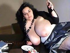 BIANCA BLOOM hefty boobs smoking