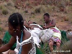african safari groupsex poke orgy