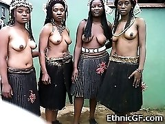Real African Nubile GFs!