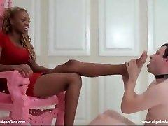 Ebony princess soles worship