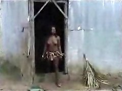 African aborigine plowing