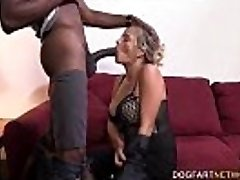 Cougar Lexxi Lash Having Her First Interracial Fuck At DogFart Network