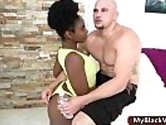 Wonderful ass ebony teenager gets big dick pounded 01
