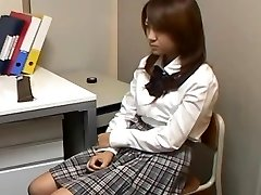 Stealing Schoolgirl blackmailed into Lovemaking