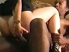Swinger Wife Mega-slut With Her Hefty Black