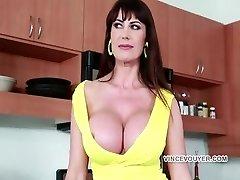 Eva Big-titted slut Take a bick dark-hued dick