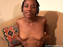 Cute black MILF wishes you were porking her juicy pussy