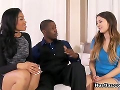 Bliss Dulce in Ebony Couples and the Virgin Childminder - Hustlaz