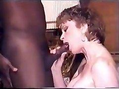 Video of Wagging Wife sucking Black lollipop